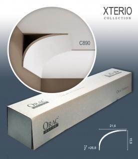 Orac Decor C890 XTERIO 1 Karton SET mit 10 Eckleisten Zierleisten | 20 m