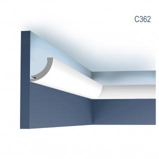 Stuck Wandleiste Orac Decor C362 LUXXUS Eckleiste Zierleiste für indirekte Beleuchtung Wand Dekor Leiste 2 Meter