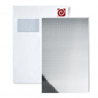 1 MusterstÜck S-14239-sa Wallface Msc Silver M-style Collection | Wandpaneel Muster In Ca. Din A4 Größe - Vorschau 1