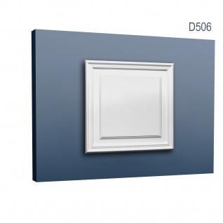 Türaufdopplung abgeplattet von Orac Decor D506 LUXXUS Wand Paneel Dekor Element Verkleidung Kunstoffplatte weiß
