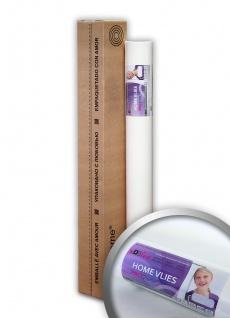 HomeVlies glatte überstreichbare Vliestapete ohne Struktur Renoviervlies Malervlies Glattvlies Maler-weiß 120 g | 25 qm