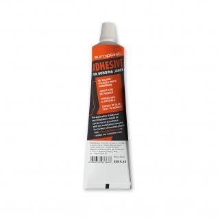 Montagekleber für Stuckprofile Profhome G08S60 Polyurethanbasierter Kleber für Stoßstellen weiß 60 ml