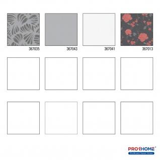 Grafik Tapete Profhome 367035-GU Vliestapete leicht strukturiert mit grafischem Muster matt schwarz grau silber 5, 33 m2 - Vorschau 4