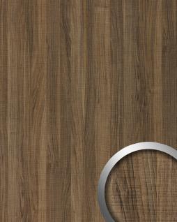 Wandpaneel Holz Optik WallFace 19028 NUTWOOD COUNTRY Nussbaum Holzdekor naturgetreue Haptik Wandverkleidung selbstklebend braun 2, 60 qm