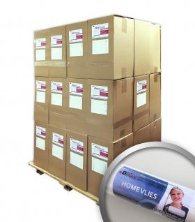 HomeVlies 120 g glatte überstreichbare Vliestapete Glattvlies Renoviervlies Malervlies weiß | 1 Pal. 1535 qm 288 Rollen