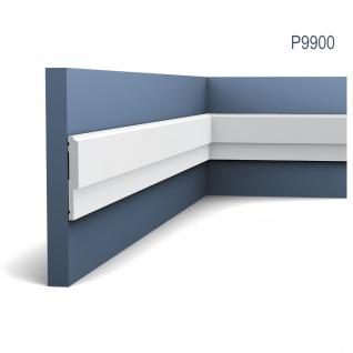 Wandleiste Stuck Orac Decor P9900 LUXXUS Stuck Leiste Friesleiste Rahmen Dekor Profil Zierleiste stoßfest | 2 Meter