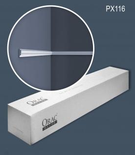 Orac Decor PX116 AXXENT 1 Karton SET mit 10 Stuckleisten Wandleisten 20 m