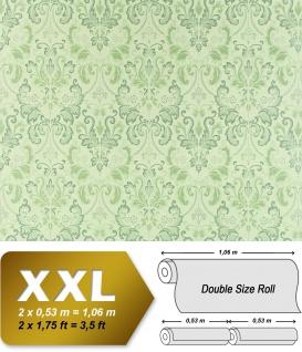 Vliestapete Barock-Tapete XXL EDEM 966-28 Muster Ornament klassisch grün hellgrün dunkelgrün 10, 65 qm