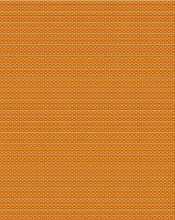 Ton-in-Ton Tapete Profhome BA220085-DI heißgeprägte Vliestapete geprägt mit grafischem Muster und metallischen Akzenten orange gold 5, 33 m2