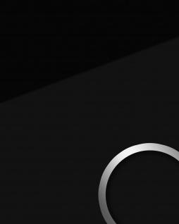 Wandpaneel Glas-Optik WallFace 17917 UNI NERO Wandverkleidung abriebfest selbstklebend schwarz 2, 60 qm