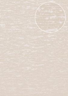 Exklusive Luxus Tapete Atlas COL-552-1 Vliestapete strukturiert im Used Look schimmernd grau grau-beige perl-beige 5, 33 m2