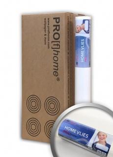 HomeVlies glatte überstreichbare Vliestapete weiß ohne Struktur Glattvlies Renoviervlies Malervlies | 4 Rollen