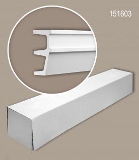 Profhome 151603 1 Karton SET mit 1 Wand- und Friesleisten Zierleisten Stuckleisten | 2 m