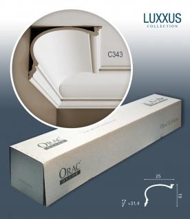 Orac Decor C343 LUXXUS 1 Karton SET mit 6 Stuckleisten | 12 m