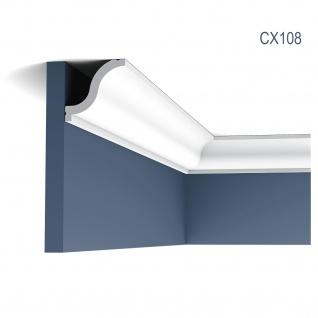 Zierleiste Profilleiste Orac Decor CX108 AXXENT Stuck Profil Eckleiste Wand Leiste Decken Leiste | 2 Meter