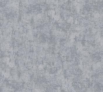 Stein Kacheln Tapete Profhome 224019-GU Vliestapete leicht strukturiert in Steinoptik matt grau 5, 33 m2