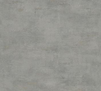 Stein Kacheln Tapete Profhome 306683-GU Vliestapete strukturiert in Steinoptik matt grau 5, 33 m2
