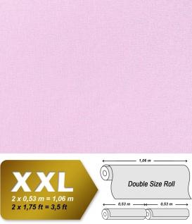 Uni Tapete XXL Vliestapete EDEM 903-19 Geprägte Struktur Textiloptik Unitapete Pastellfarben violett lila 10, 65 m2