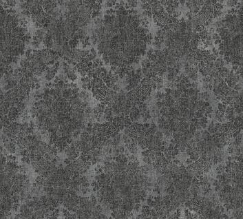 Grafik Tapete Profhome 336078-GU Vliestapete glatt im Barock-Stil matt grau schwarz 5, 33 m2