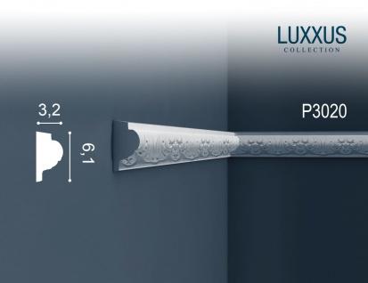 Stuck Wandleiste Orac Decor P3020 LUXXUS Zierleiste Friesleiste Stuck Dekor Profil Zierleiste Wand | 2 Meter