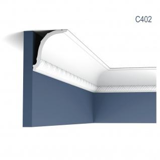 Stuck Zierleiste Orac Decor C402 LUXXUS Eckleiste Decken leiste Dekorleiste Deckenleiste Gesims 2 Meter