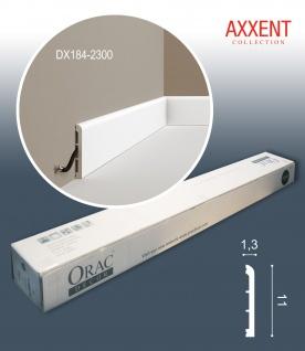 Orac Decor DX184-2300-box 1 Karton SET mit 16 Türumrandungen Sockelleisten | 36, 8 m