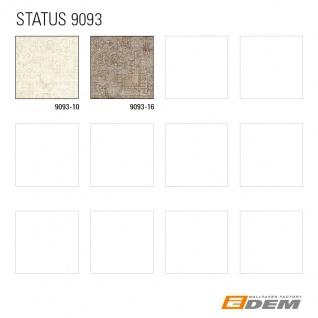 Spachtel Putz Tapete EDEM 9093-16 heißgeprägte Vliestapete geprägt im Shabby Chic Stil glänzend beige braun silber 10, 65 m2 - Vorschau 2