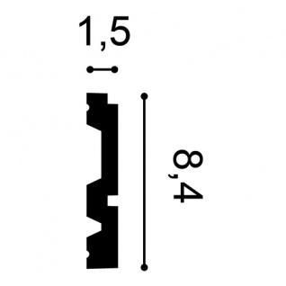 Friesleiste Stuck Orac Decor P5051 LUXXUS Wandleiste Wandprofil Stuck Profil Dekor Leiste stoßfest   2 Meter - Vorschau 2