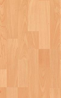 MEISTER 202 Klick Laminat Laminatboden Ahorn 3-Stab Schiffsboden Holz-Nachbildung | 3, 06 qm / 12 Dielen - Vorschau 1