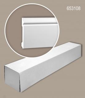 Profhome 653108 1 Karton SET mit 12 Sockelleisten Zierleisten Stuckleisten | 24 m