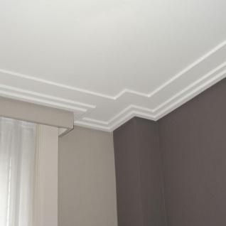 Dekor Profil Orac Decor C353 LUXXUS Eckleiste Zierleiste Decken Stuck Leiste Dekorleiste Gesims Profilleiste | 2 Meter - Vorschau 4