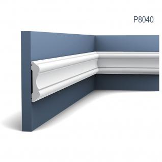 Wandleiste Stuck Orac Decor P8040 LUXXUS Stuckprofil Friesleiste Rahmen Dekor Profil Relief Leiste Zierleiste 2 Meter