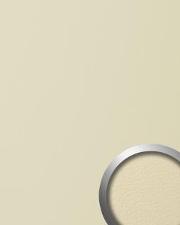 Wandpaneel Leder Design selbstklebend WallFace 13468 LEATHER Struktur Wandplatte Paneel Tapete creme 2, 60 qm
