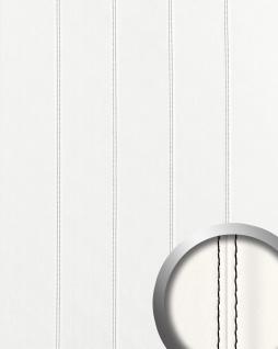 Wandpaneel Leder Design Echtnaht WallFace 15250 LEATHER ZN schwarz Wandplatte Paneel selbstklebend weiß 2, 60 qm