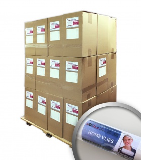 Glattvlies Renoviervlies Malervlies 120 g Profhome HomeVlies Reparaturvlies weiß 1 Palette 1535 m2 288 Rollen