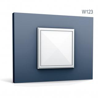 3D Wandpaneel Orac Decor W123 LUXXUS AUTOIRE Wandpaneel Zierelement Zeitloses Klassisches Design weiß 0, 11 m2