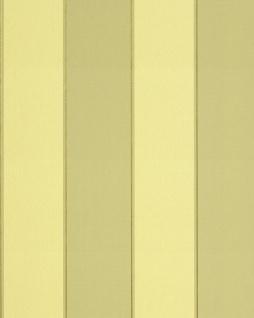 Streifen Tapete EDEM 771-35 Vinyl Tapete Hochwertig Barock pastell-gelb grün-gelb bronze