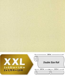 Uni Tapete Vliestapete EDEM 917-27 Hochwertige Luxus Tapete in XXL geprägte grün-beige Struktur   10, 65 qm