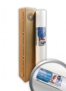 NORMVLIES 150 g Renoviervlies glatte überstreichbare Vliestapete weiß Glattvlies Malervlies | 18, 75 m2 25 Meter Rolle