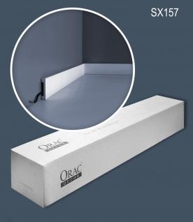Orac Decor SX157-box 1 Karton SET mit 39 Sockelleisten Wandleisten 78 m