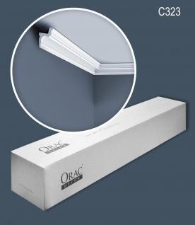 Orac Decor C323-box 1 Karton SET mit 30 Eckleisten Indirekte Beleuchtung 60 m
