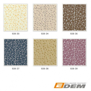 Stein Vliestapete EDEM 928-38 Luxus-Decor mosaik-fliesen-kacheln optik grün-beige gold 10, 65 qm - Vorschau 4