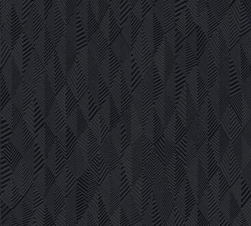 Grafik Tapete Profhome 359983-GU Vliestapete leicht strukturiert mit grafischem Muster matt schwarz 5, 33 m2