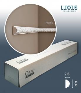 Orac Decor P2020 LUXXUS 1 Karton SET mit 20 Wandleisten Zierleisten | 40 m