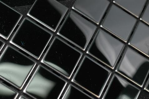 Mosaik Fliese massiv Metall Edelstahl hochglänzend in grau 1, 6mm stark ALLOY Diamond-S-S-M 0, 91 m2 - Vorschau 4