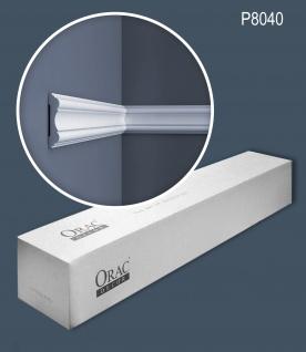 Orac Decor P8040 LUXXUS 1 Karton SET mit 10 Wandleisten Zierleisten | 20 m
