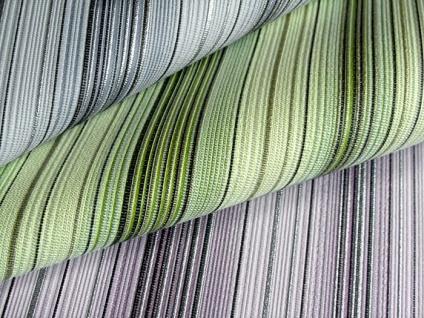 Streifen Tapete EDEM 097-25 Designer Tapete prunkvolle modern und edel grün hellgrün gold silber schwarz - Vorschau 2