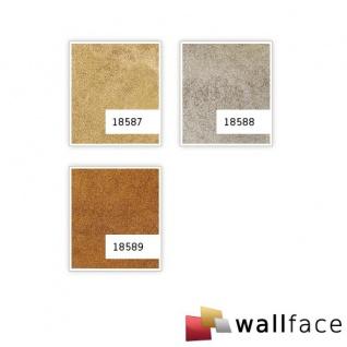 Wandverkleidung Design Platte WallFace 18588 DECO Iron Age selbstklebend Vintage Metall-Optik platin beige 2, 60 qm - Vorschau 4