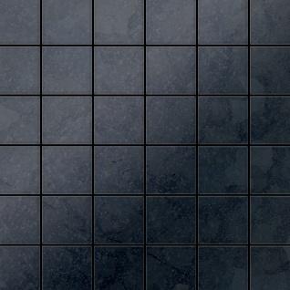 Mosaik Fliese massiv Metall Rohstahl gewalzt in grau 1, 6mm stark ALLOY Cinquanta-RS 0, 94 m2