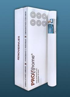 Renoviervlies Profhome 130 g 6 Rollen 150 m2 HomeVlies Glattvlies Malervlies überstreichbar für Wände und Decken